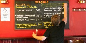 Photo au pub: Today The Specials Are…