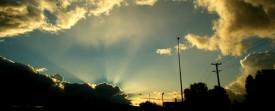Coucher de soleil en nouvelle zélande - Photos