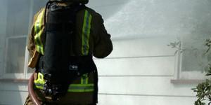 Photos de pompiers à l'entrainement