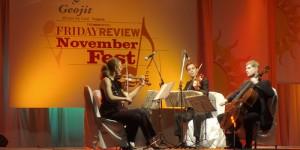 Festival de musique à Chennai