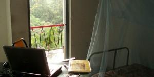 Ma chambre, pendant la mousson