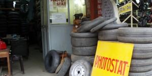 Photocopieuse et pneumatiques