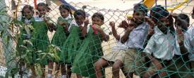 Enfants dans une école en inde