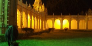 Mysore Palace, by night!